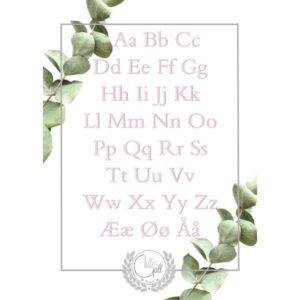Alfabet og tall